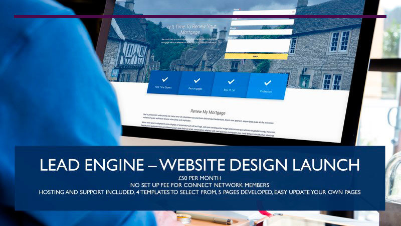 The Lead Engine - web design launch